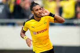 Aubameyang has been shortlisted for the Ballon D'or