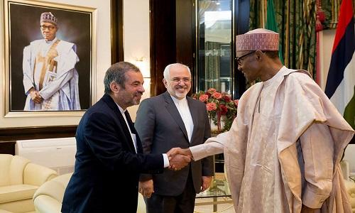 PMB-Mohammad Javad Zarif-Morteza Rahimi Zarchi-Iranian Ambassador to Nigeria