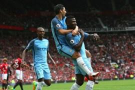 Manchester City striker, Kelechi Iheanacho