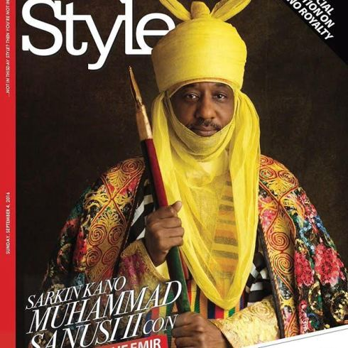 Image result for sanusi lamido sanusi official portrait