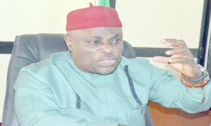 Image result for I'm still APGA chairman, says Victor Oye