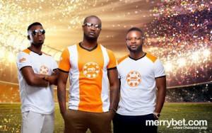 Peter Okoye unveiled as Merrybet
