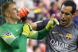 claudio bravo joe hart manchester man city