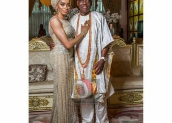 Wife Suprises Billionaire Razak Okoya On 80th Birthday (Video)