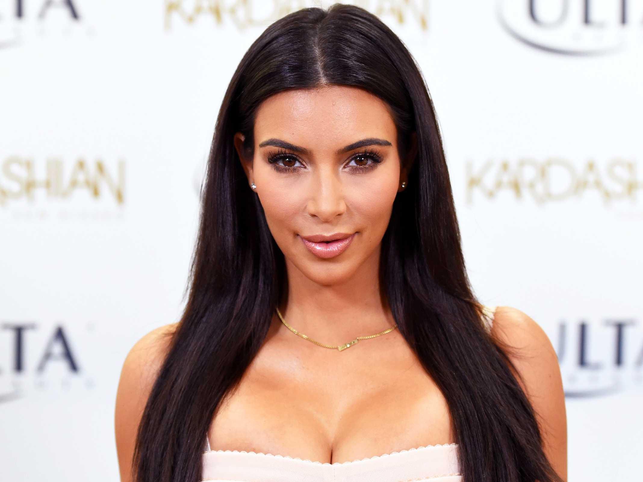 Reactions As Kim Kardashian Shows Off Luxury Kitchen (Video)