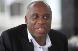 Image result for Transport Minister, Mr. Rotimi Amaechi.