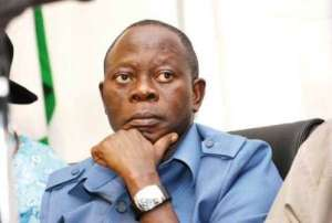 oshiomole - God Only Left You To Entertain The House – Oshiomole To Dino Melaye