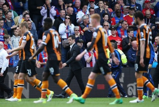 Crystal Palace 4-0 Hull City: Tigers relegated after thrashing
