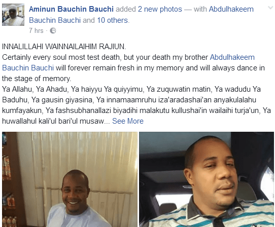 Missing Blogger Found Laying Mysteriously Dead In Bauchi State