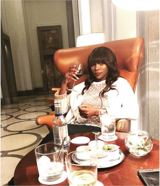 Actress Genevieve Shows Off Cool Swag in New Photo 1