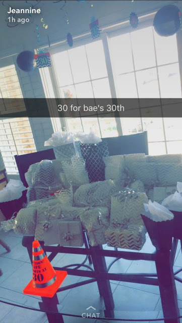 Lady Buys Her Boyfriend 30 Gifts To Celebrate His 30th