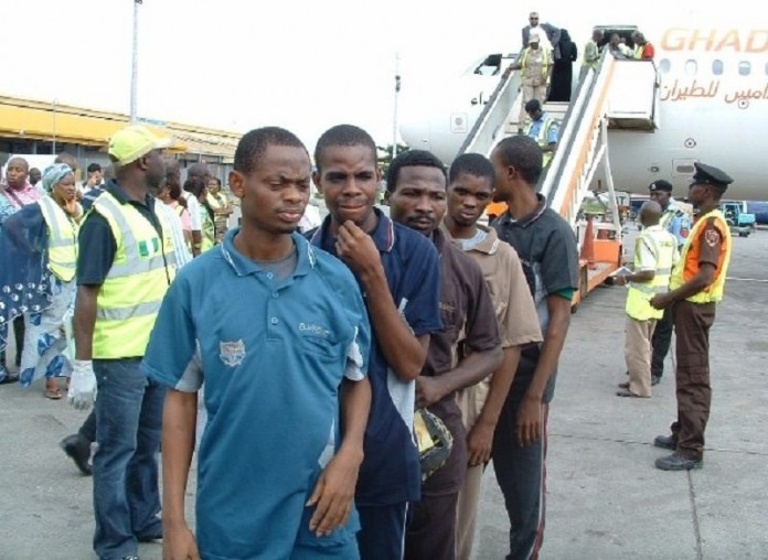 Six European countries deport 34 Nigerians