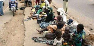 Street beggars