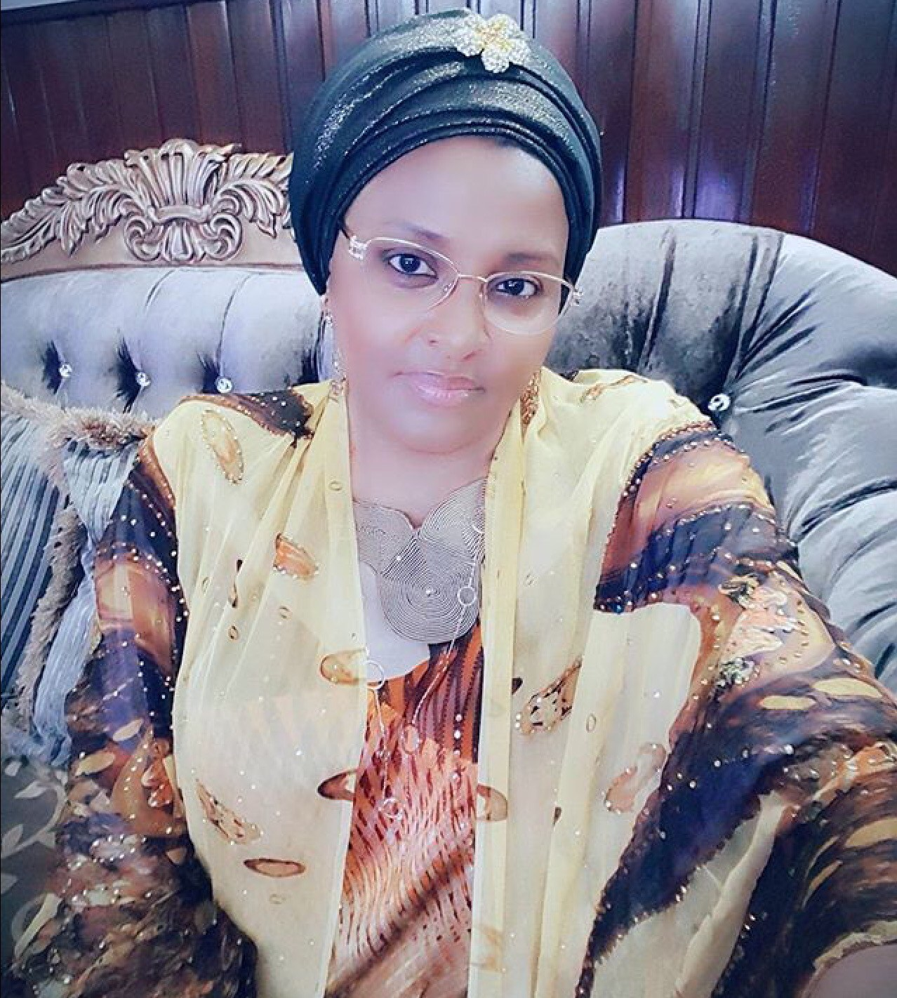 See What Abacha's Daughter, Gumsu Abacha Tells A Twitter User Who Told Her To Stop Posting Her Food Pictures