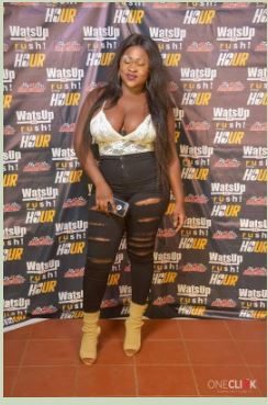 Ghanian Singer Rocked Braless Outfit To An Event