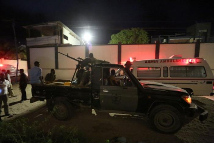 19 people killed as Islamist sect attack in Somali hotel