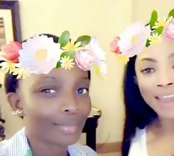 [Ent] Toke Makinwa Rejoices As Her Younger Sister, Busayo Is Set To Marry A White Man 4 13