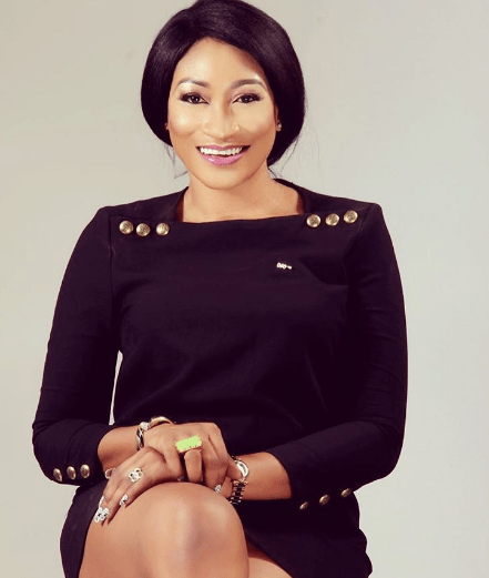"Oge Okoye new photo - Nigerians Fire Heavy Shots At Oge Okoye For Visiting Controversial South African Pastor With Her ""Innocent"" Daughter"