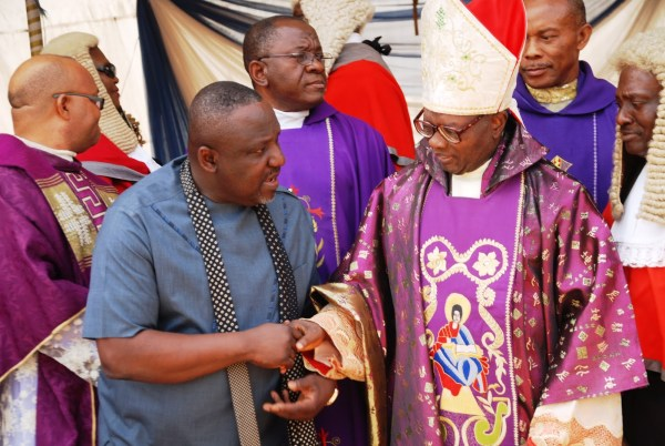 Image result for Revealed: Why Imo Catholic Archbishop is against Okorocha, APC