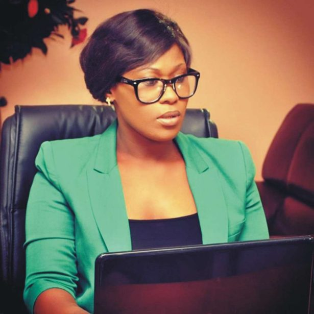 UCHE JOMBO 1 - Nollywood Actress, Uche Jombo, Wants Ex-Governor Barred From Going To Senate