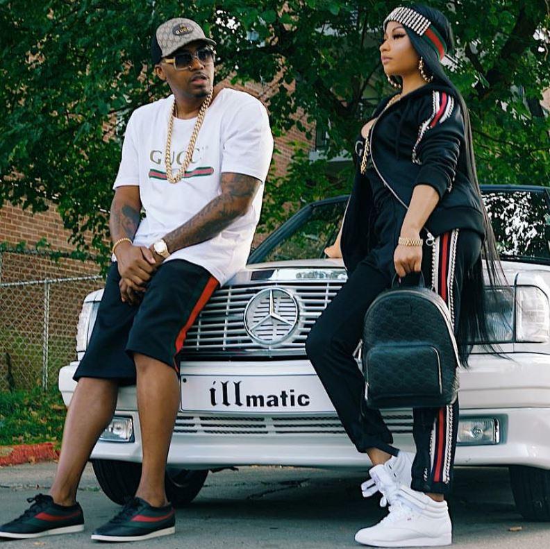 Nicki Minaj Amp Her New Boyfriend Step Out In Matching Gucci