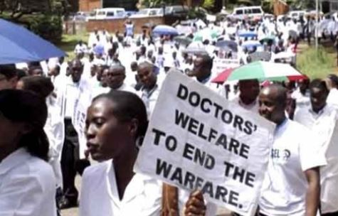 Image result for Joint Health sector unions to embark on nationwide strike
