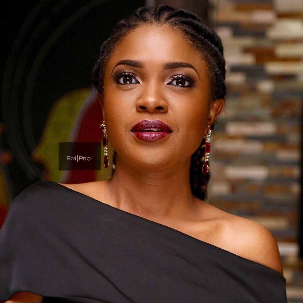 Omoni Oboli - Awwww!!! See Why Omoni Oboli Slept In Her Car Over The Night