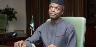 Nigerians Better Together, Division No Option – Osinbajo