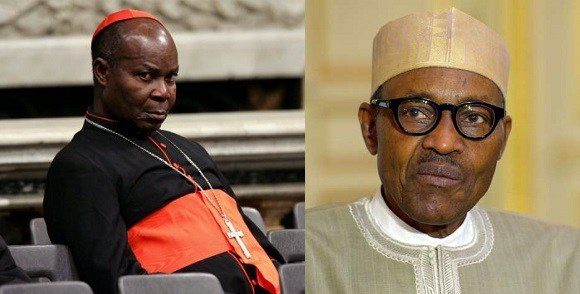 Image result for Nigerians are angry with you – Cardinal Okogie tells Buhari