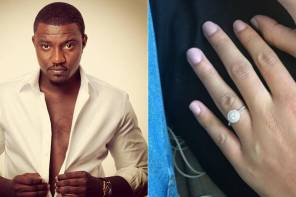 Turns out Ghanaian actor, John Dumelo isn't engaged after all!