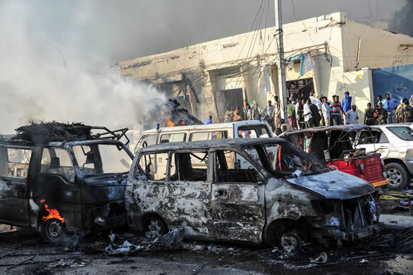 Bombing kills eight in Baghdad
