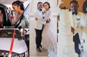 Lagos big boy, Lawrence, gifts wife, Orji Kalu's daughter, N80m Range rover as wedding gift (photo)