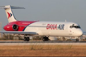Buzzing Today: Dana Air Plane Overshoot Runway Into Bush