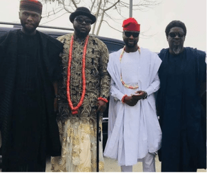 omawumi traditional 2 - First Photographs From Omawumi's Conventional Marriage ceremony To Tosin Yusuf In Warri