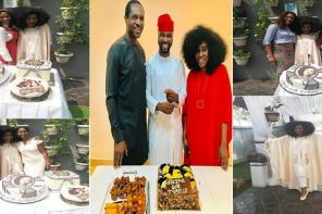 TY Bello Sheds Tears As She Receives 2 Different Surprise Parties For Her 40th Birthday (photos + Video)