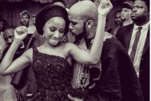 WOW! Banky W Celebrates Wife, Adesua As She Turns 30