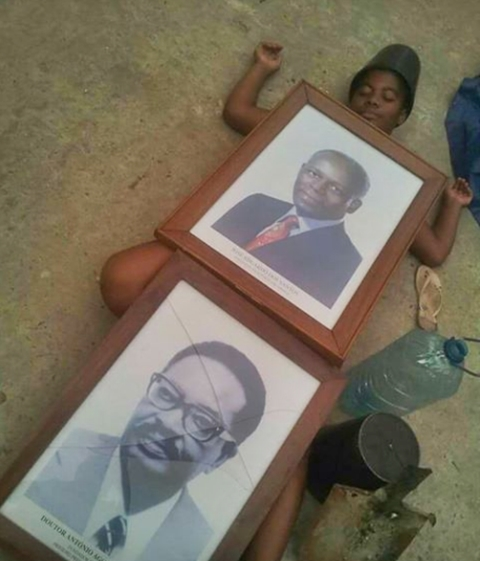 Bizarre Trend: See How Protesting Angolans Played Dead In