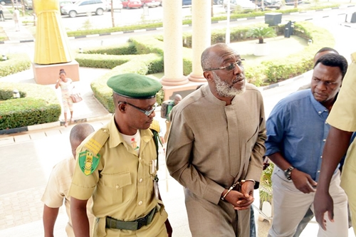 breaking news shock as ex pdp spokesman olisa metuh arrives abuja court in ambulance - N400m fraud: Metuh writes court, says he can't be available for trial because he is bereaved