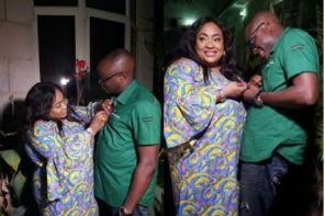 Actress Foluke Daramola's Husband Shares Romantic Photos With Her