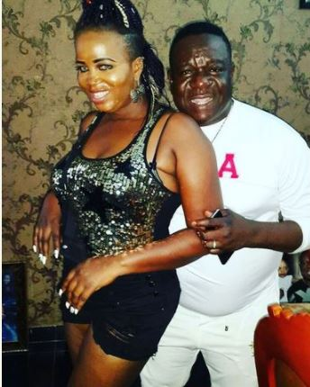 Nollywood Actor Mr Ibu Shares Photo Of His Wife