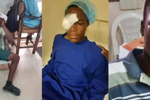 Lagos Secondary Student Stabbed In The Eye By Fellow Student (Photos)