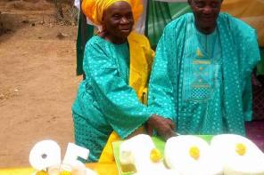 Nigerian Old Couple Celebrate Their 95th & 100th Birthday Together (Photo)