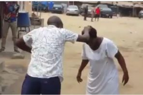 Pastor Beaten By Mentally Challenged Woman He Was Trying To Heal (Video)