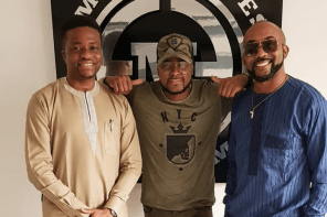 'Talk to us for all things' – Singer Banky W floats new company in the entertainment industry (PHOTO)