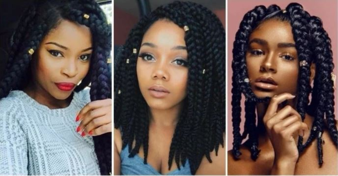 Top 10 African Braiding Hairstyles For Ladies Photos