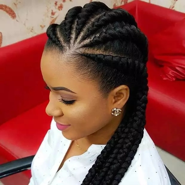 Image result for weaving hairstyles 2018