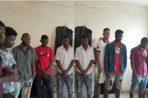 10 Nigerian Yahoo boys arrested in Ghana over fraudulent activities