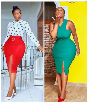 big bbs and booty is a family thing yolo actress serwa opoku addo photos 1 - 'Big B**bs And Booty Is A Family Things' -Actress Serwa Opoku Addo Flaunts Curves In New Photos