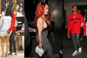 Blac Chyna's 18 Year Old Boyfriend Grabs Her Bum While On Shopping