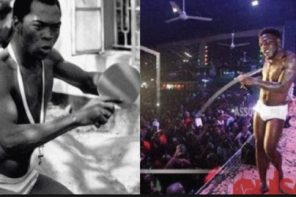 Burna Boy Reveals Fela Kuti Is The Only One That Did Real Afrobeat As Far As He's Concerned (Video)